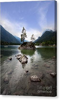 Hintersee Canvas Print by Nailia Schwarz