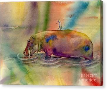Hippy Dippy Canvas Print by Amy Kirkpatrick