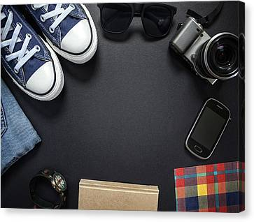 Hipsters Outfit Canvas Print