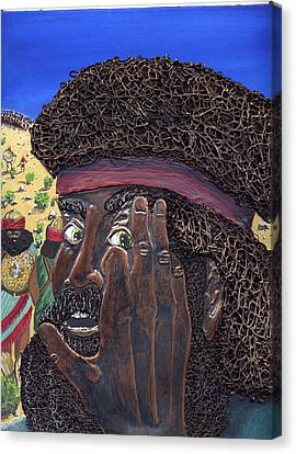 His Brother Eliab Canvas Print by Dan RiiS Grife
