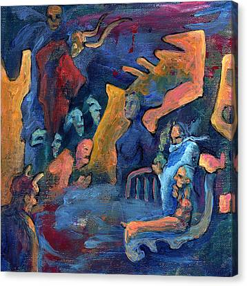 His Domain Canvas Print by David Matthews