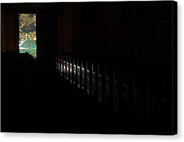 Canvas Print featuring the photograph His Power by Al Swasey