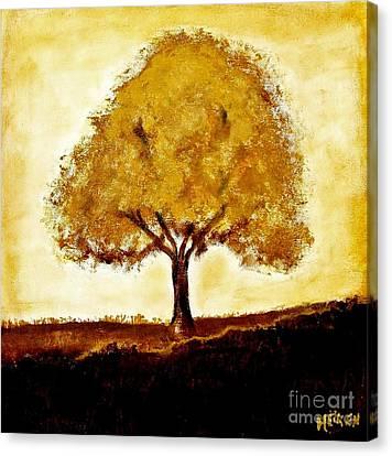 His Tree Canvas Print by Marsha Heiken