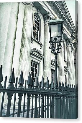 Historic Architecture Detail Canvas Print by Tom Gowanlock