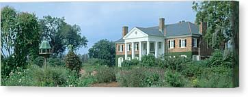 Historic Boone Hall Cotton Plantation Canvas Print