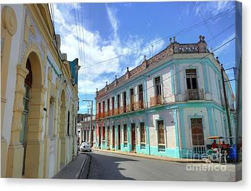 Historic Camaguey Cuba Prints 2 Canvas Print by Wayne Moran