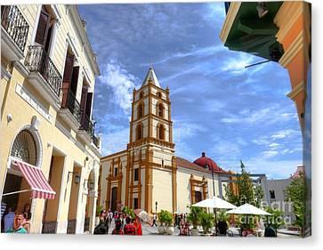 Historic Camaguey Cuba Prints 3 Canvas Print