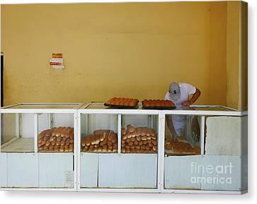 Historic Camaguey Cuba Prints The Bakery Canvas Print