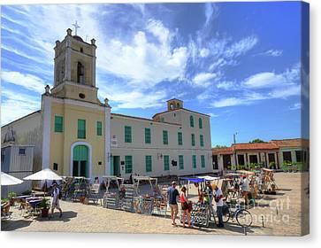 Historic Camaguey Cuba Prints Canvas Print