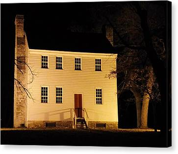 Historic Carter Mansion  Canvas Print