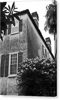 Historic Charleston Home Canvas Print by Dustin K Ryan