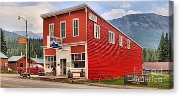 Historic Cooke City Store Canvas Print