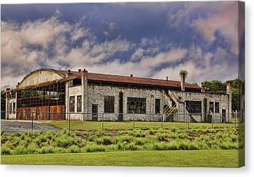 Historic Curtiss Wright Hanger Canvas Print