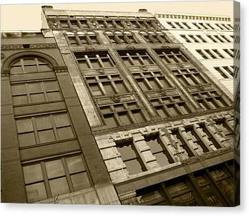Historic Detroit Canvas Print