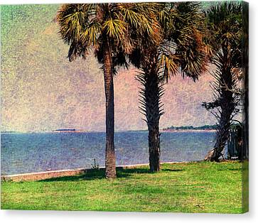 Historic Fort Sumter Charleston Sc Canvas Print by Susanne Van Hulst