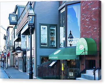 Historic Newport Buildings Canvas Print