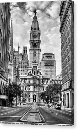 Historic Philly City Hall Canvas Print by JC Findley