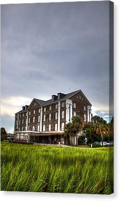 Historic Rice Mill Building Canvas Print by Dustin K Ryan