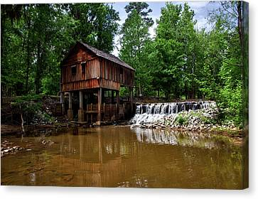 Historic Rikard's Mill - Alabama Canvas Print by Mountain Dreams