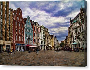 Historic Rostock Germany Canvas Print