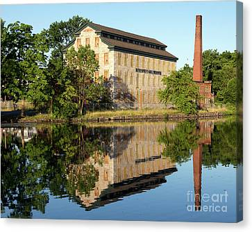 Historic Seneca Knitting Mill Canvas Print