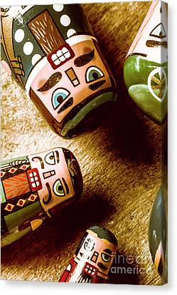 Moustache Canvas Print - Historic Toys by Jorgo Photography - Wall Art Gallery