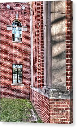 Historic Veteran's Hospital II Canvas Print by Tamyra Ayles