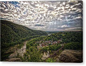 Historic View Canvas Print