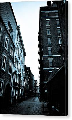 Historic Walk Canvas Print by Mark Highfield