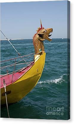 Historical Yacht Canvas Print