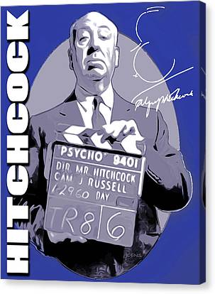 Hitchcock Canvas Print by Greg Joens