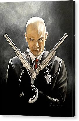 Hitman Canvas Print by Al  Molina