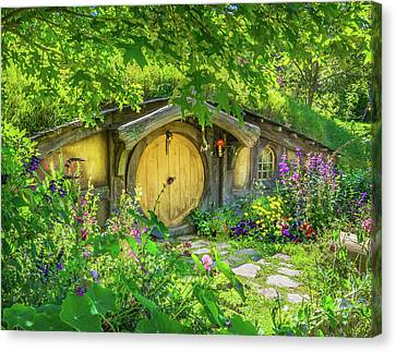 Hobbit Cottage Canvas Print