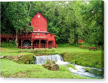 Hodgson Water Mill Canvas Print