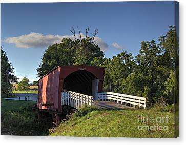 Roseman Covered Bridge Canvas Print by Thomas Danilovich