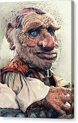 Hoggle - Labyrinth Canvas Print