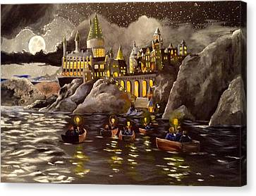 Hogwarts Castle 2 Canvas Print