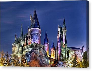 Hogwarts Canvas Print by Danny Price