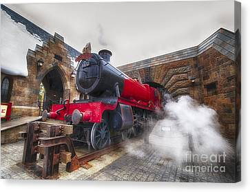 Hogwarts Express Canvas Print by Darcy Michaelchuk