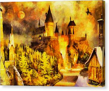 Hogwarts Canvas Print by George Rossidis