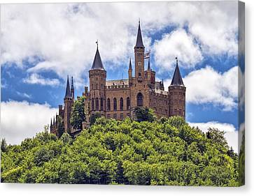 Hohenzollern Castle Canvas Print by Marcia Colelli