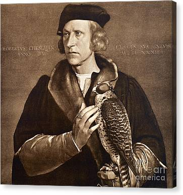 Holbein: Falconer, 1533 Canvas Print by Granger