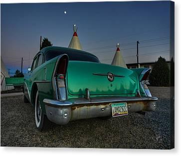 Holbrook Az - Wigwam Motel 013 Canvas Print by Lance Vaughn