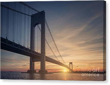 Staten Island Canvas Print - Hold Back The Night by Evelina Kremsdorf