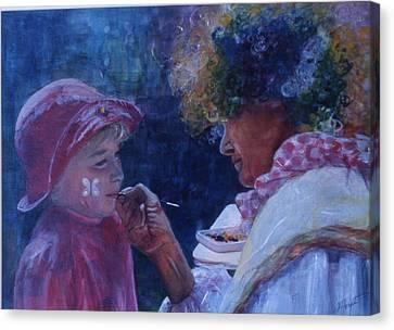Hold Still Canvas Print by Victoria Heryet