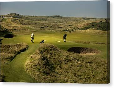 Hole 8 The Postage Stamp Royal Troon Golf Course Canvas Print