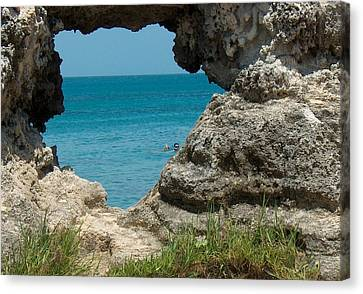 Hole In Rock Canvas Print