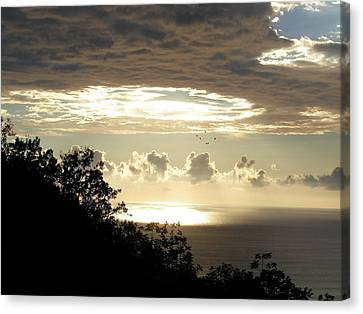 Hole In The Sky Canvas Print by Gregory Young