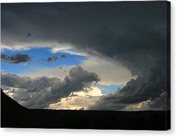 Hole In The Storm Canvas Print