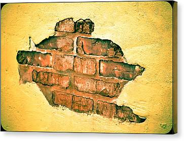 Hole In The Wall Canvas Print by Keith Sanders